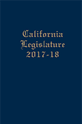 California Joint Legislative Handbook, 2017-2018