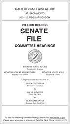 Senate File - Committee Hearings (PDF)