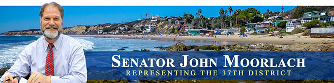 Senator John M. W. Moorlach - 37th District of California